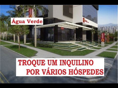 Adágio Apart Hotel Helbor Curitiba investimento rendimentos Água Verde lançamento