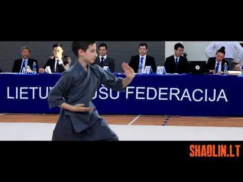 Shaolin Lithuania in 4th Lithuanian Open Wushu Championship 2018