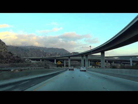 Interstate 5 California, South: Snowy Grapevine, Tejon Pass, Newhall Pass