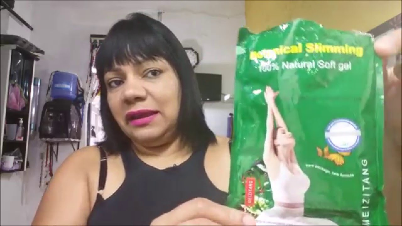 Pastillas para bajar de peso botanical slim
