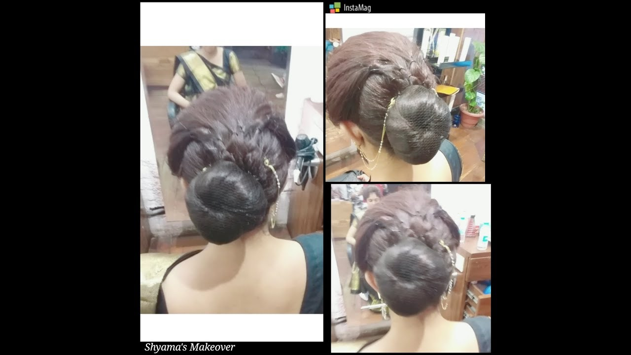 air hostess bun hairstyles || low bun || round bun hairstyles by shyama's makeover