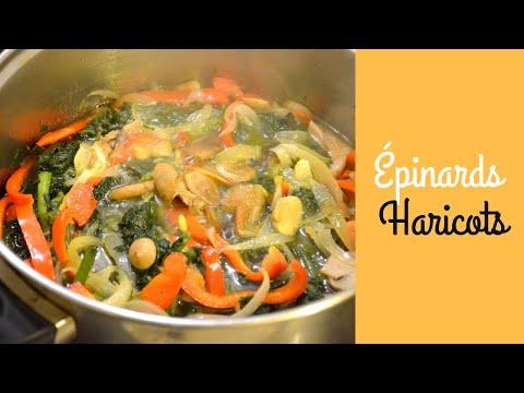 recette-d'épinards-et-haricots-verts---#maman-♡