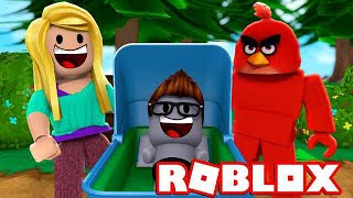 BABY LARS HAT EIN BÖSEN PAPA in ROBLOX [Deutsch/HD]