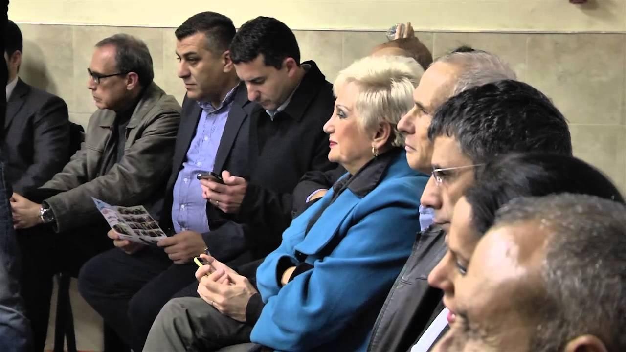 מפלגת העבודה: אבנר זכריה מפלגת העבודה בכנס האחרון של הפריימריז רגע לפני