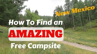 How to find tнe PERFECT dispersed campsite - Lincoln National Forest - New Mexico