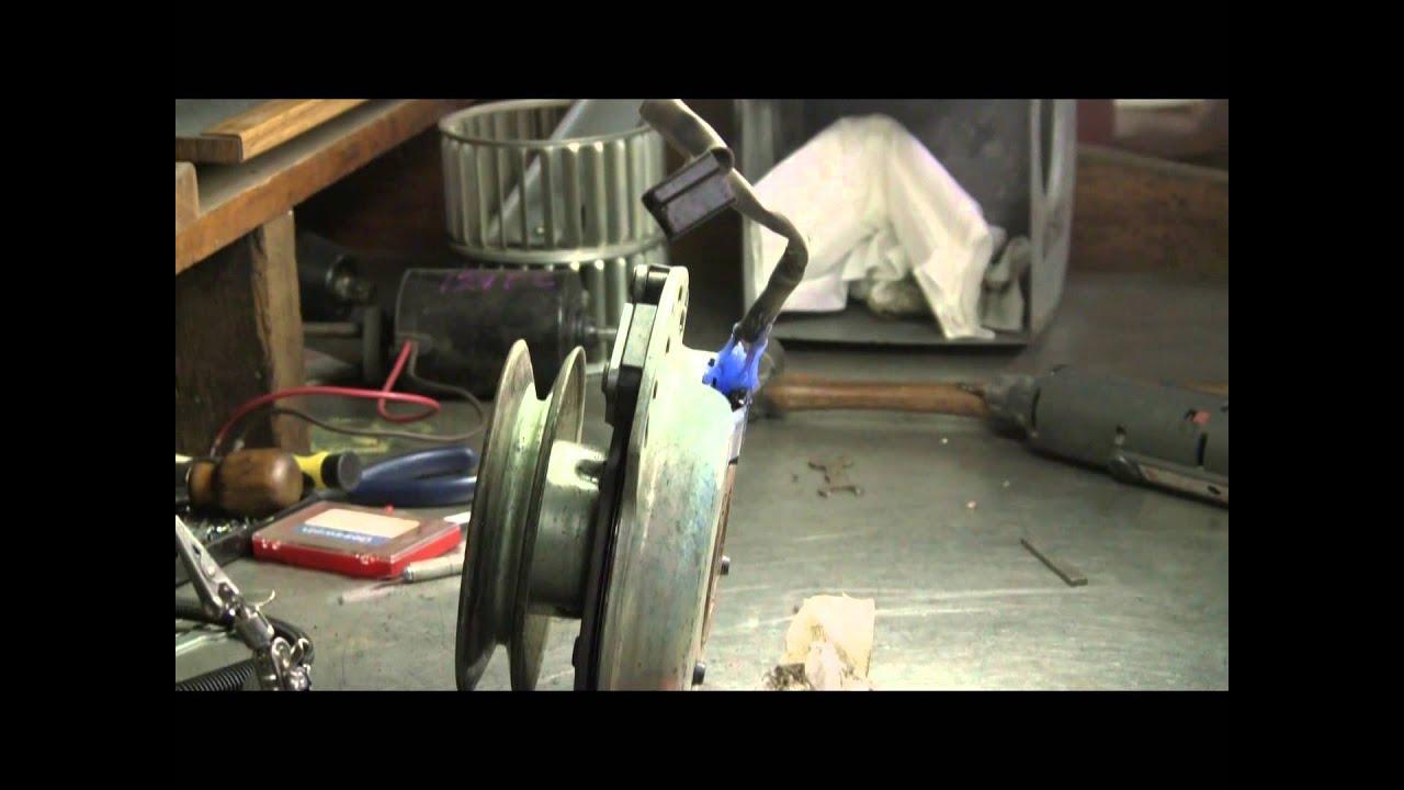 medium resolution of repair dixon mower clutch
