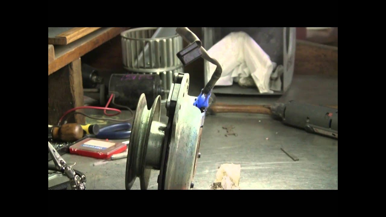 small resolution of repair dixon mower clutch