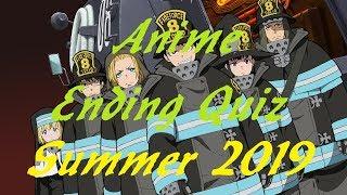 Gambar cover Anime Ending Quiz - Summer 2019 Edition - 10 Endings
