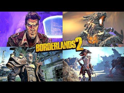 BORDERLANDS 2 - ALL BOSS BATTLES + DLC (UPDATED 2019)