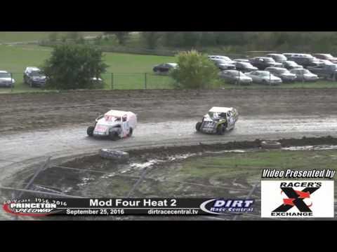 Princeton Speedway 9/25/16 Mod Four Heat 2
