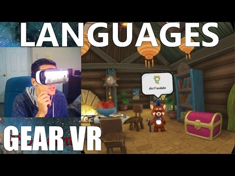 Gear VR LANGUAGE Learning | House of Languages Review (Free)