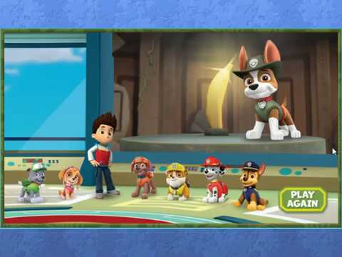 Paw Patrol Game - Tracker to the Rescue NEW High Score!