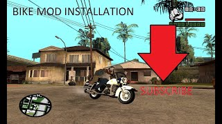 How to install bike mods on gta san andreas pc very easy