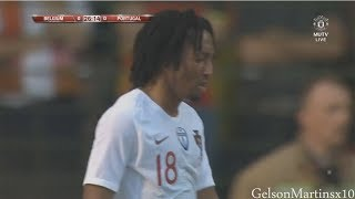 Gelson Martins vs Belgium (2-6-2018) International Friendly