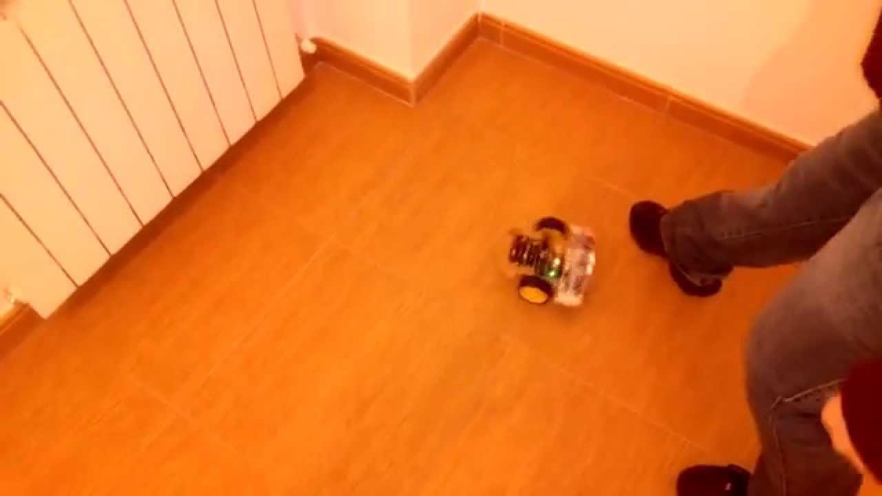 Arduino robot esquiva obstáculos youtube