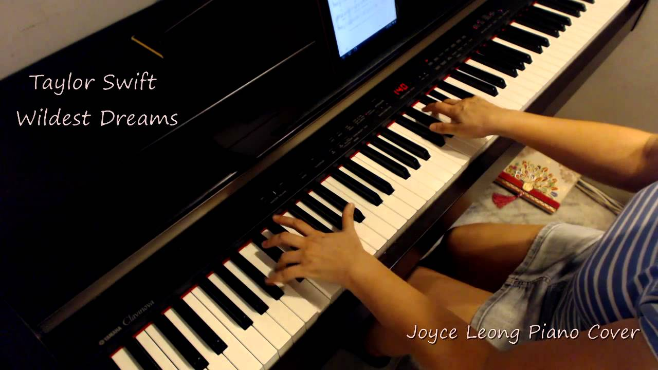 wildest dreams piano sheet music pdf