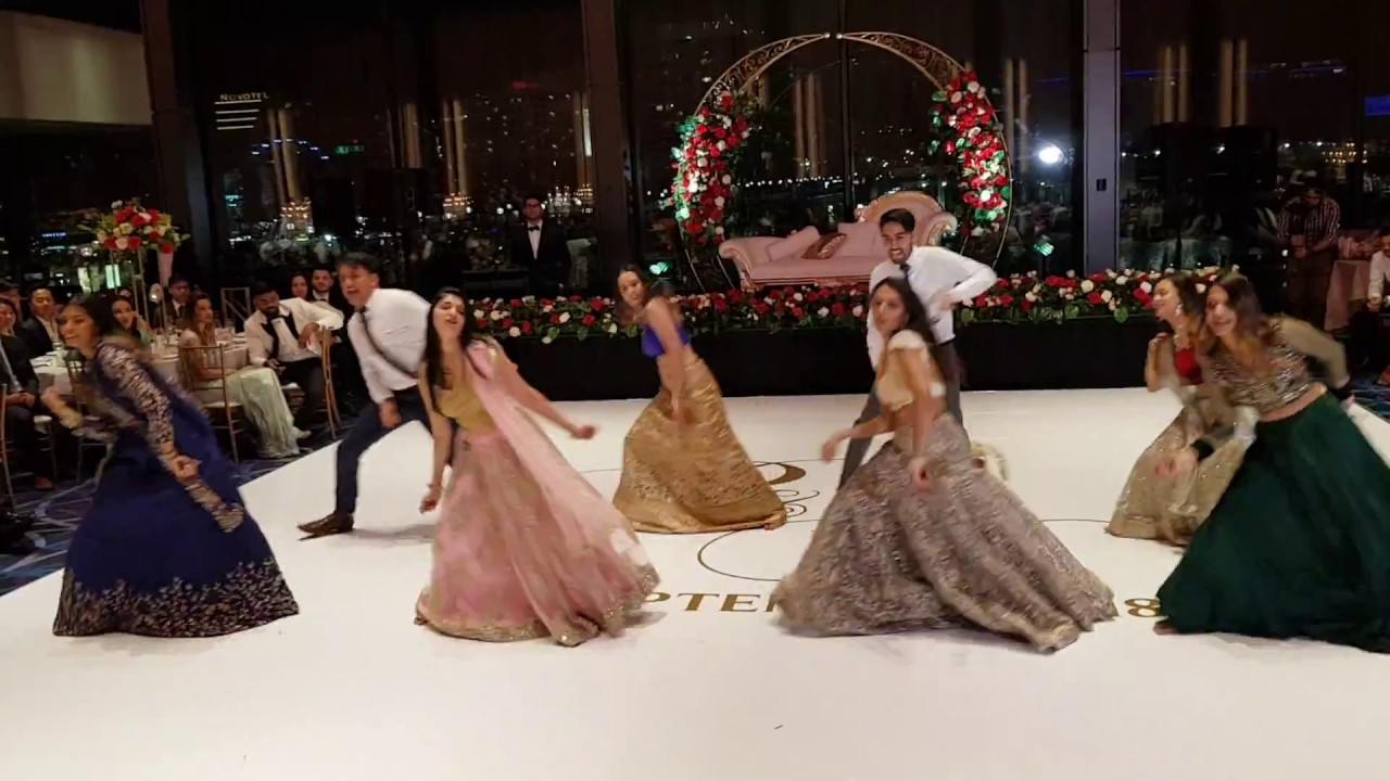 Best Indian Bollywood Wedding Reception Dance 2018