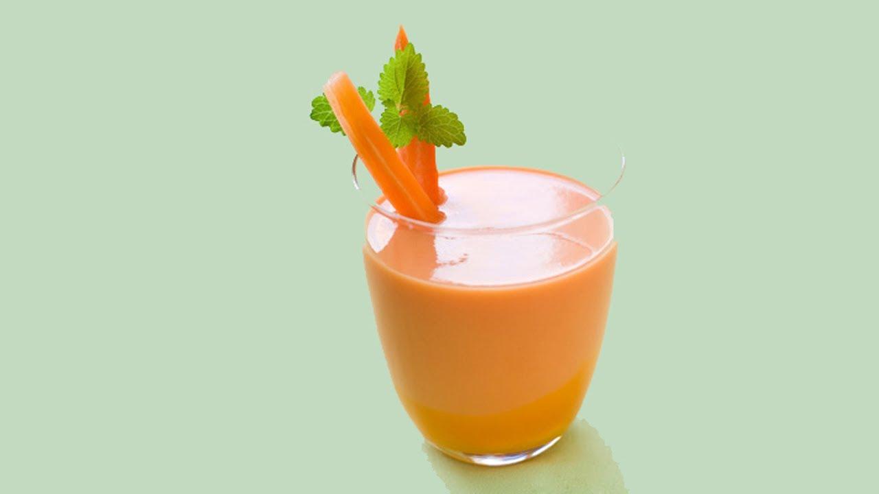 como se hace el jugo de zanahoria