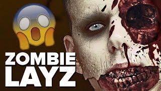 Photoshop transformacija: LayZ postao zombi! | Dennis Domian