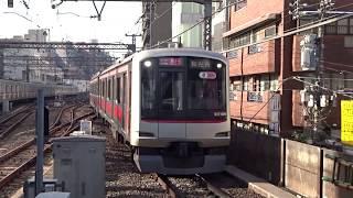 東急東横線5050系5169F中目黒駅到着