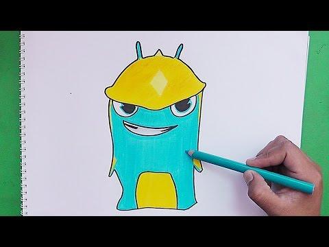 Dibujando y coloreando Torpedo (Bajoterra)  Drawing and coloring Torpedo