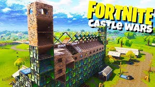 Castle Wars! - NEW Fortnite Playground Mode! - Fortnite Playground Gameplay