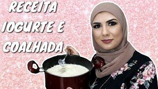 RECEITA ÁRABE – Iogurte Natural e Coalhada Seca