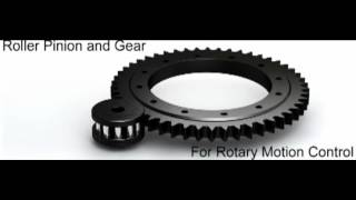 Roller Pinion System Animation