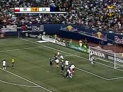 David Beckham & LA Galaxy vs. New York Red Bull 08/18/07