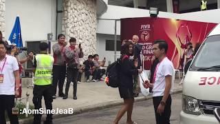 นักวอลเลย์บอลหญิงทีมชาติไทยกับทีมชาติจีน WGP2016 10/7/59