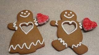 Gingerbread Man/woman/people Cookies