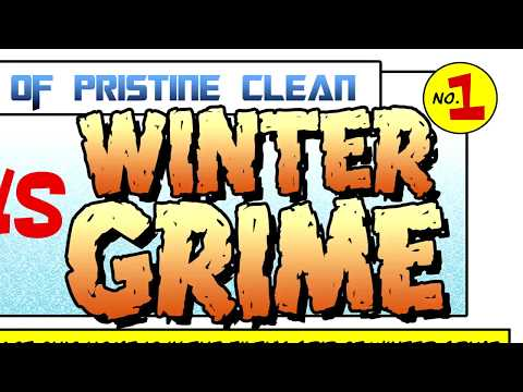 The Pristine Clean Team vs. Winter Grime | Power Washing | Pressure Washing