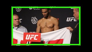 Breaking News | UFC Fight Night 128 weigh-in results: Kevin Lee heavy, but main event goes on