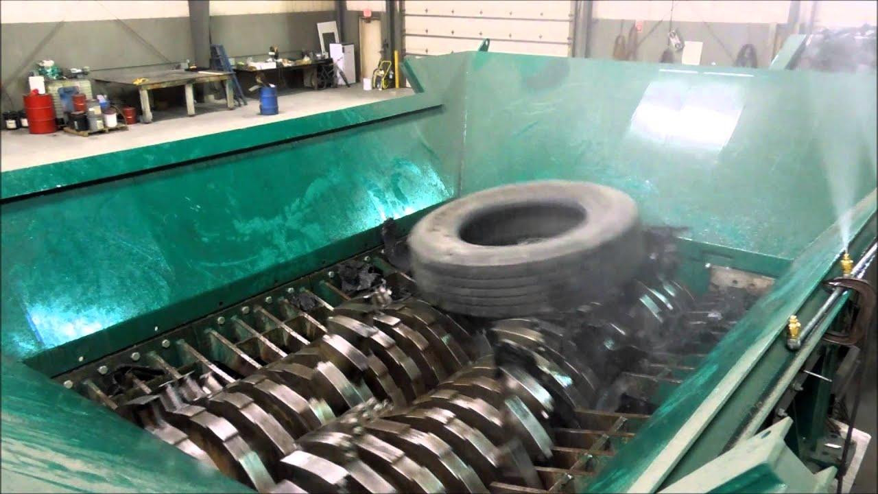 Tire Shredding Youtube