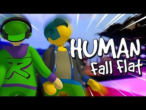 BEST OF HUMAN FALL FLAT COOP! 😂 /w Honigball & Trefion #1