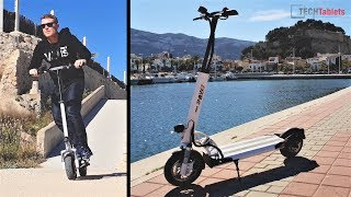emove cruiser electric scooter review fast 45 kmh 100 km range
