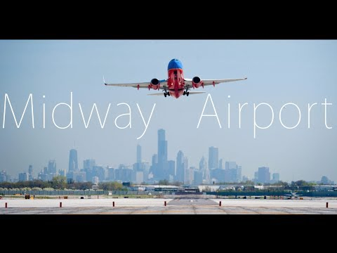 Aircraft Spotting at Midway International Airport, Illinois