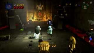 Lego Indiana Jones 2 the adventure continues level gameplay/commentary (PS3)