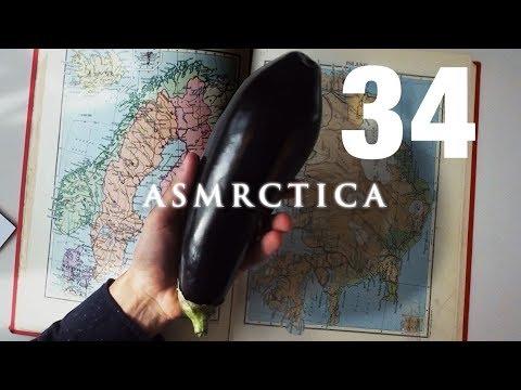 ASMR The geographical shape of Sweden - Soft Spoken