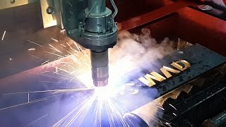 CNC Plasma Cutting Machine - Table CNC Plasma Cutter Manufacturers with Hypertherm HRP130XD Power