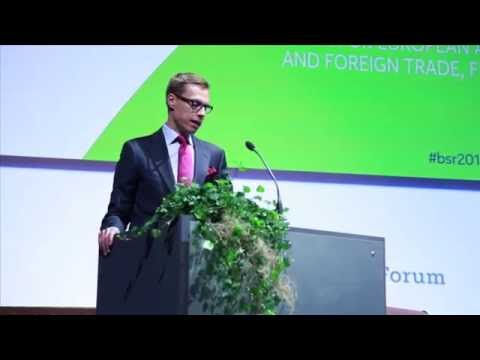 Alexander Stubb: From idea to implementation