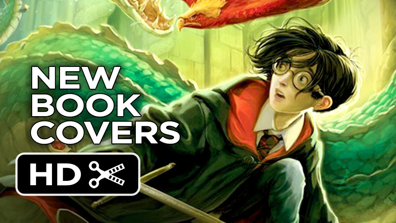 How To Make A Book Cover Look New : First look new harry potter book covers hd youtube