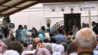 Празднование 700 летия со дня явления Толгской иконы Божией Матери(Видео сайта http://www.svtihon.ru/, 2014-08-23T11:29:02.000Z)
