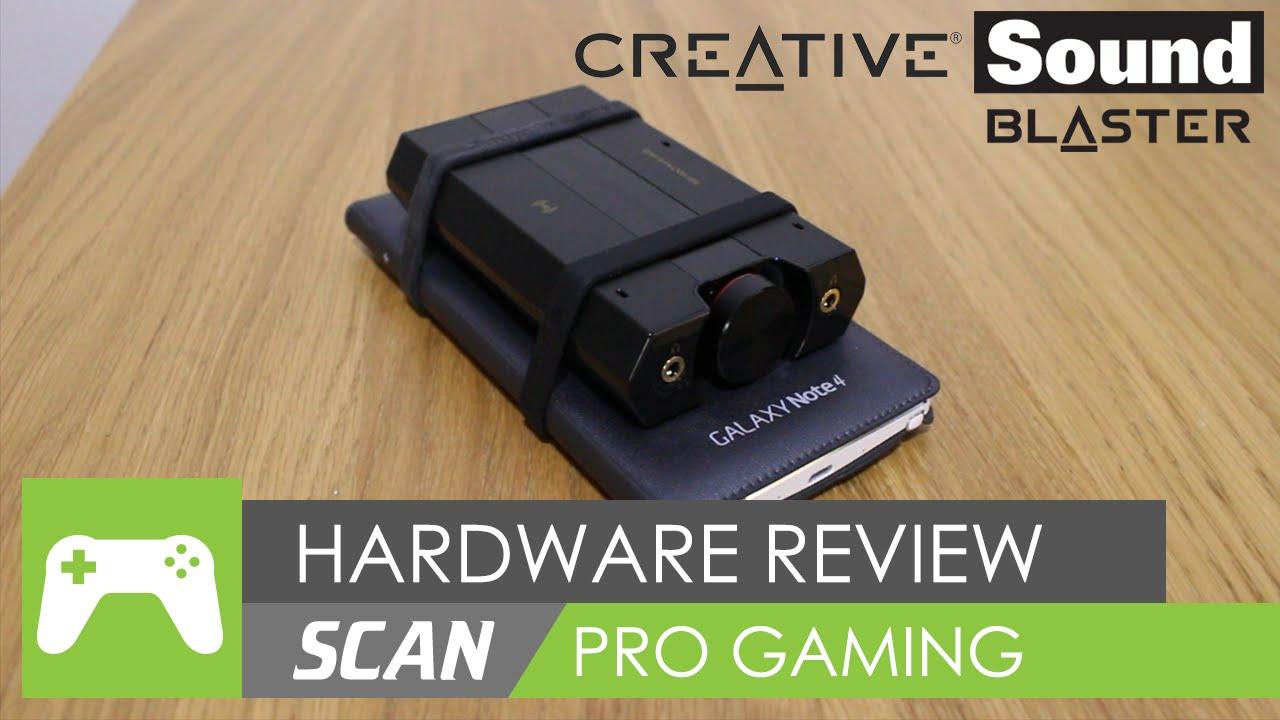Creative SoundBlaster E5 USB DAC / Amp / External Soundcard Review