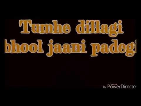 Tumhe Dillagi Lyrics With Sargam  Rahat Fateh Ali Khan  Huma Qureshi, Vidyut Jamwal
