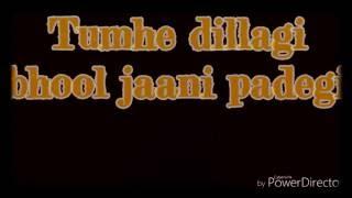 Tumhe Dillagi Lyrics With Sargam| Rahat Fateh Ali Khan| Huma Qureshi, Vidyut Jamwal