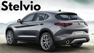 2018 Alfa Romeo Stelvio Q4 280 HP - Awesome SUV