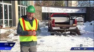 Behind the scenes: Taking a tour of Riverfront Park construc