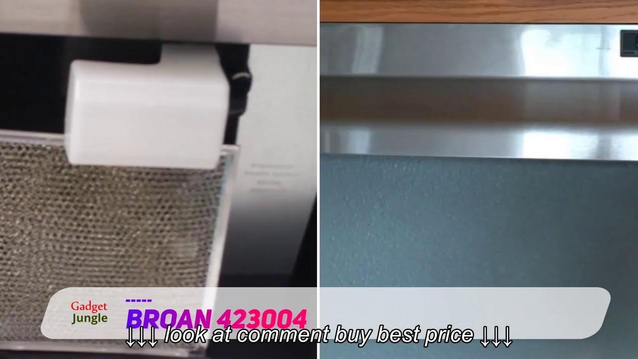 Broan 423004 Range Hood 30-Inch Stainless Steel