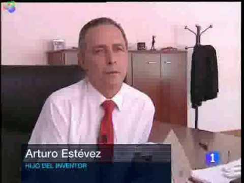 El motor de agua de Arturo Estevez Varela